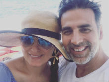 In Which Akshay Kumar And Twinkle Khanna Make Us All Jealous With Holiday Pic