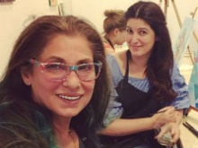 Twinkle Khanna Spotted This About Mom Dimple, 60, And Daughter Nitara, 4