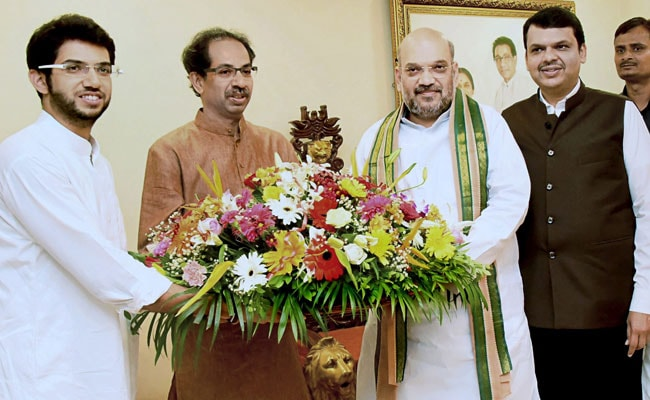 Shah seeks Sena support for presidential polls
