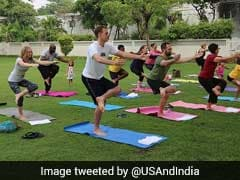 International Day Of Yoga: Foreign Missions And Diplomats Join Celebrations