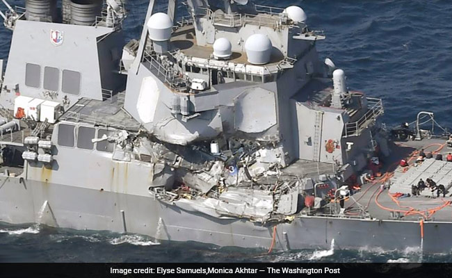 'There Wasn't A Lot Of Time' As Water Flooded US Destroyer Below Decks