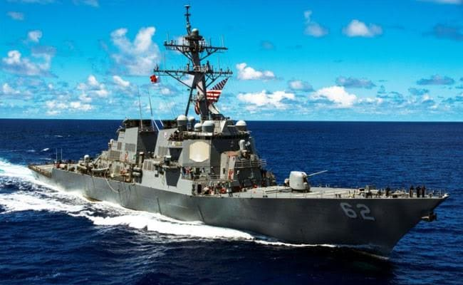 7 Sailors Missing After US Navy Destroyer Collides With Container Ship In Japan