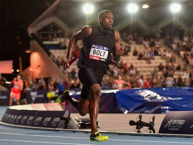 Usain Bolt Runs Away With a Victory in His Emotional Final Race in Jamaica