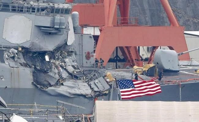 Bodies of missing Navy sailors found after collision near Japan