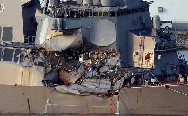 US Navy Identifies All 7 Sailors Killed In Japan Collision