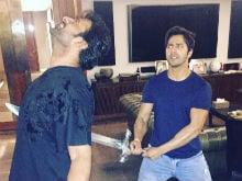 Poor Prabhas. First Katappa And Now Varun Dhawan. That Must Have Hurt