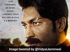 'बादशाहो': अजय देवगन और इमरान हाशमी के बाद सामने आया विद्युत जामवाल का लुक
