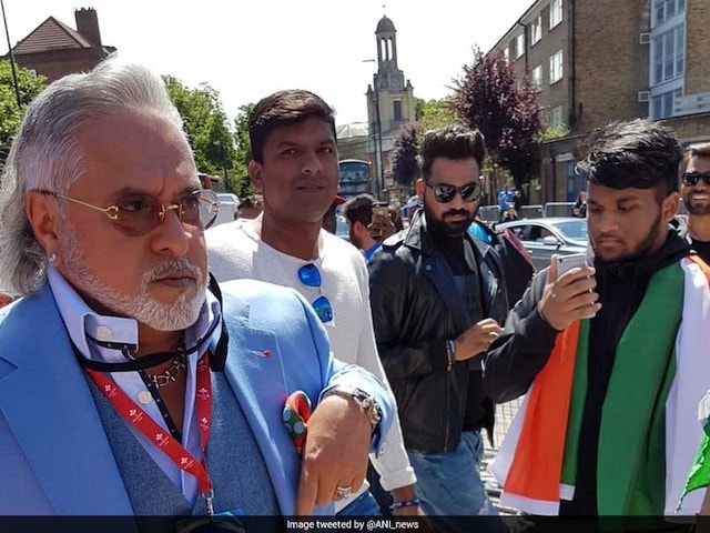Vijay Mallya Booed With Chor Chor Chants At The Oval