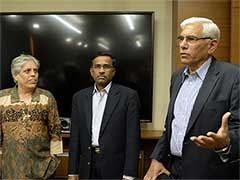 Vikram Limaye's Impending Exit Big Loss To Committee Of Administrators: Diana Edulji