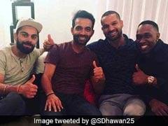 INDvsWI : जब कप्तान विराट कोहली दो साथियों सहित जा पहुंचे क्रिकेटर ड्वेन ब्रावो के घर और फिर...