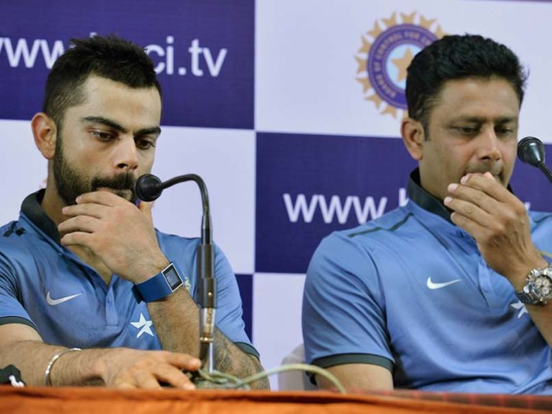Anil Kumble Scolded Players Like Children, Say Sources About Fallout With Virat Kohli
