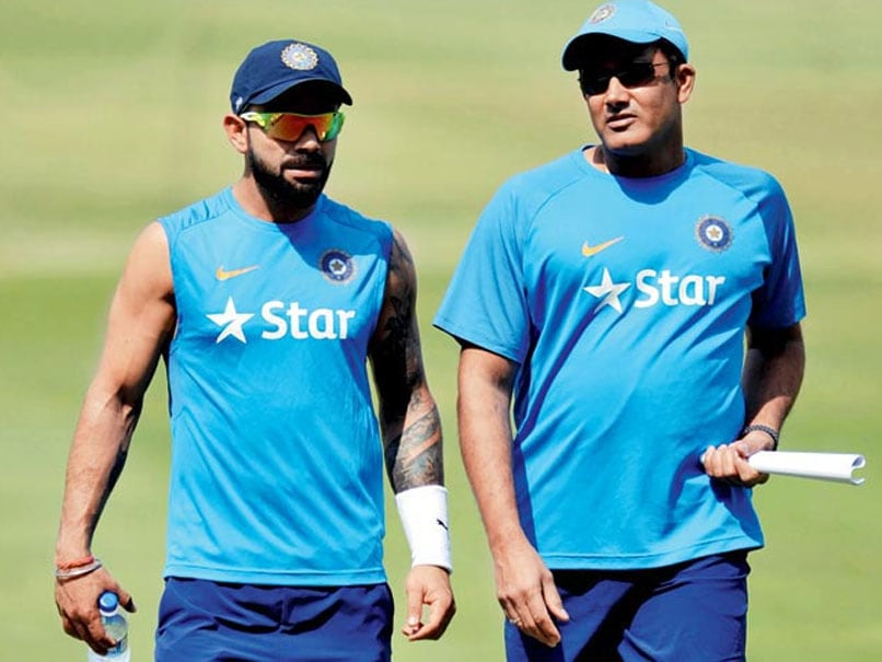 Have total respect for Anil Kumble as a cricketer, asserts Virat Kohli