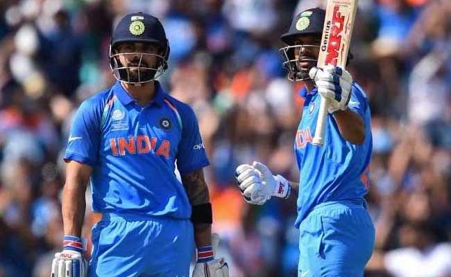 INDvsSA चैंपिंयस ट्रॉफी : धवन-विराट की पारियों से वर्ल्ड नंबर वन द.अफ्रीका को हराकर टीम इंडिया सेमीफाइनल में पहुंची