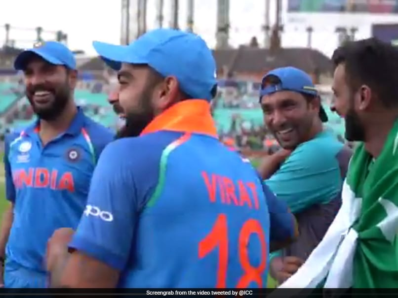 ICC Champions Trophy: India, Pakistan Players Share A Laugh After The Final