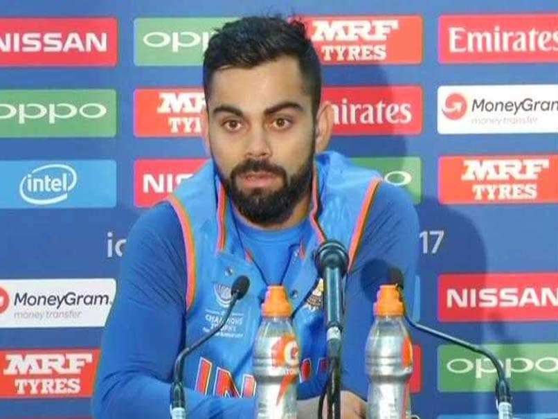 ICC Champions Trophy 2017: Virat Kohli Wants His Batsmen To Score More Runs Vs South Africa