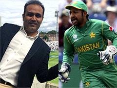 चैंपियंस ट्रॉफ़ी फाइनल से पहले वीरेंद्र सहवाग ने दिया पाकिस्तानी कप्तान सरफ़राज़ अहमद का 'साथ'