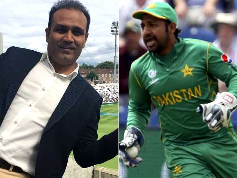 Champions Trophy 2017: Virender Sehwag Comes Out In Strong Defence Of Pakistan Captain Sarfraz Ahmed