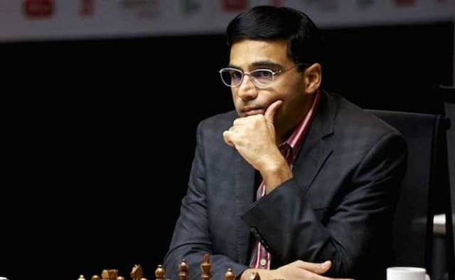 Viswanathan anand played draw with Magnus