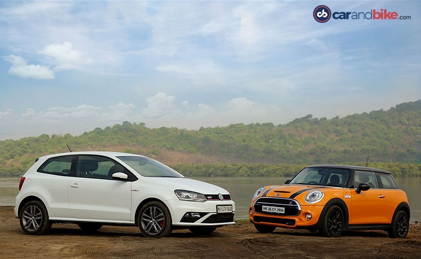 Comparison Review Mini Cooper S Vs Volkswagen Gti Ndtv Carandbike