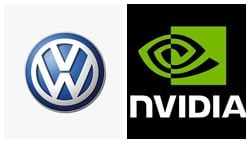 Volkswagen To Jointly Work With Nvidia On Artificial Intelligence
