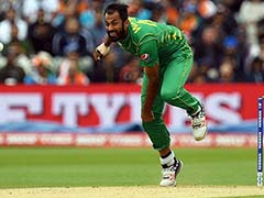 Pakistan's Wahab Riaz Out Of Champions Trophy Due To Ankle Injury