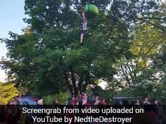 Video Shows Teen Falling 25 Feet From Ride, Crowd Gathering To Catch Her