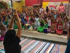 International Yoga Day: Noida NGO Makes Yoga Part Of Under Privileged Children Education Programme