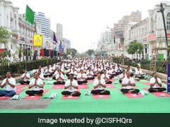 15,000 Gather At DDA Parks, 10,000 At Connaught Place In Delhi For Yoga Day