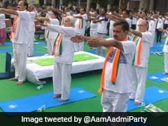 International Yoga Day 2017: Delhiites Stretch And Twist To Celebrate  After Rains