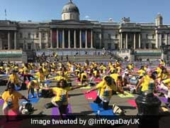International Yoga Day 2017: London's Trafalgar Square Unites For Peace