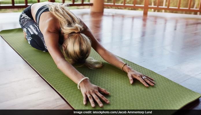 yoga pose helpful healthy
