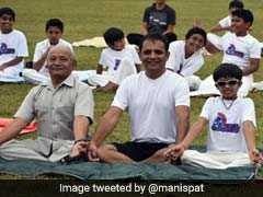 At PM Modi's Behest, Twitter Posts Pics Of Three Generations Doing Yoga