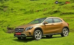 Post-GST 2017 Mercedes-Benz GLA Facelift Gets Cheaper By Up To Rs. 3.8 Lakh