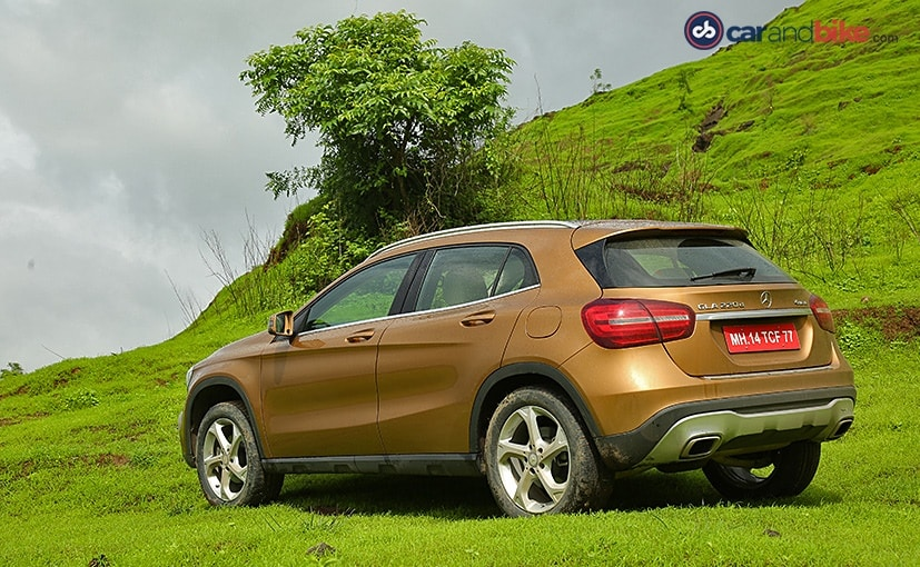 Mercedes benz gla facelift launched in india priced at rs for Mercedes benz gla india