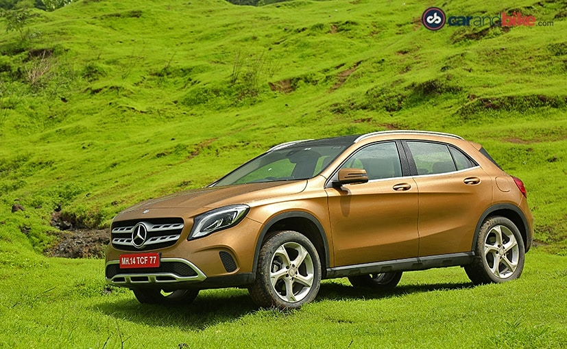 2017 mercedes benz gla facelift launched in india prices start at rs lakh ndtv carandbike. Black Bedroom Furniture Sets. Home Design Ideas