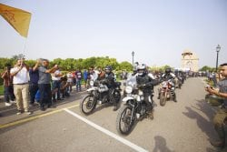14th Royal Enfield Himalayan Odyssey Kicks Off From Delhi