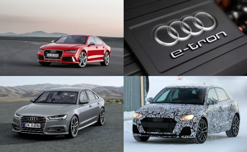 New Generation Audi A A A And New ETron Model Coming In - Audi various models