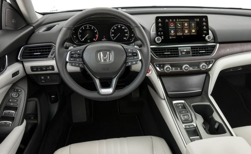 2018 honda accord unveiled in the us ndtv carandbike. Black Bedroom Furniture Sets. Home Design Ideas