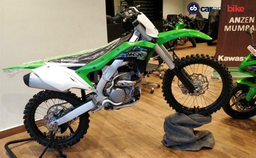 2018 Kawasaki KX250F Launched In India