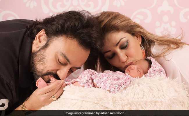 बेटी मेदिना से दुनिया को पहली बार मिलाया पिता बने अदनान सामी ने