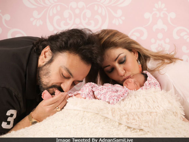 Adnan Sami Introduces His Daughter Medina On Twitter. See Pics