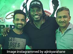 India vs West Indies: Chris Gayle Hosts Team India Over Dinner