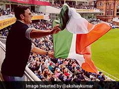 ICC Women's World Cup Final: Akshay Kumar Adds Bollywood Colour To Lord's