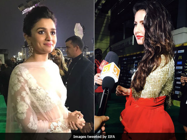IIFA Awards 2017: Salman Khan, Katrina Kaif, Alia Bhatt Make Green Carpet A Hit Despite Rain