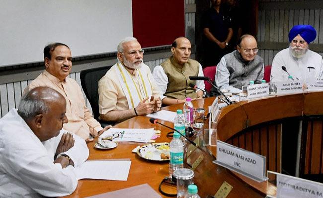 बजट सत्र से पहले लोकसभा अध्यक्ष सुमित्रा महाजन और केंद्र सरकार ने आज बुलाई अलग-अलग सर्वदलीय बैठक