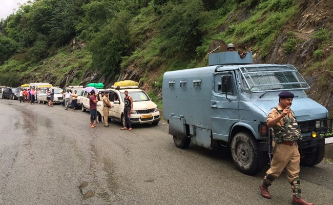 Over 300 Pilgrims Leave Jammu For The Amarnath Yatra Today