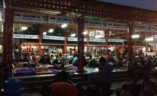 amarnath yatra pilgrims ndtv