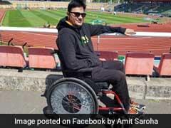 India's Amit Kumar Saroha Wins Silver In World Para Athletics Championships