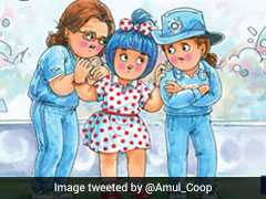 Amul Hails 'Buttereen Pradarshan' Of Women In Blue. Social Media Cheers