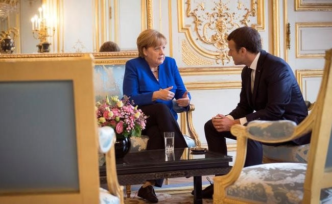Macron, Merkel Announce 'Deep Revolution' Plans For Europe